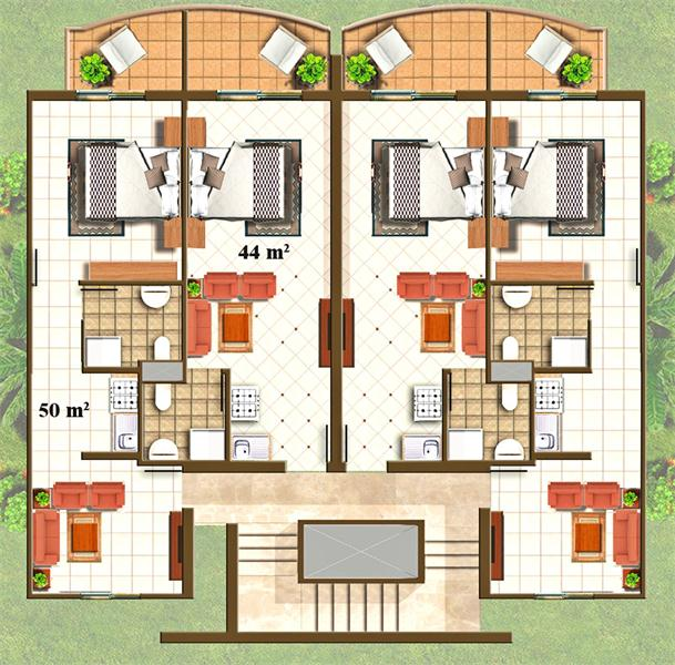 Wing Two Bedroom Apartment Bedroom Designs With Balcony Vray Bedroom Interior Bedroom Apartment Design: The View Hotel & Resort
